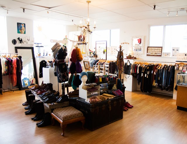 vancouver eco fashion store Adhesif Clothing
