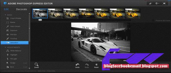 cara edit foto keren online dengan photoshop tool