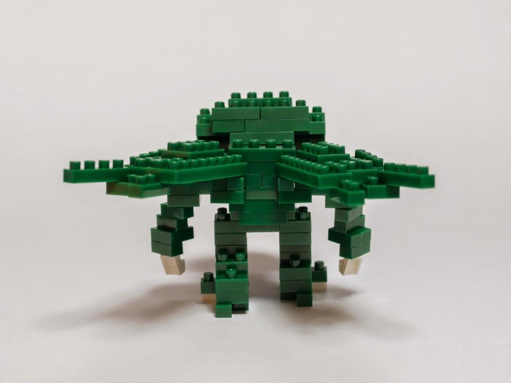 ナノブロックで作ったクトゥルー