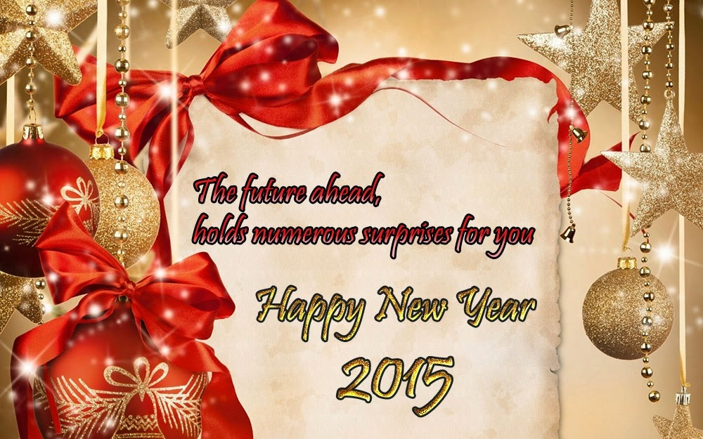 Christmas Happy New Years Greeting Wishes 2015 eCard Images