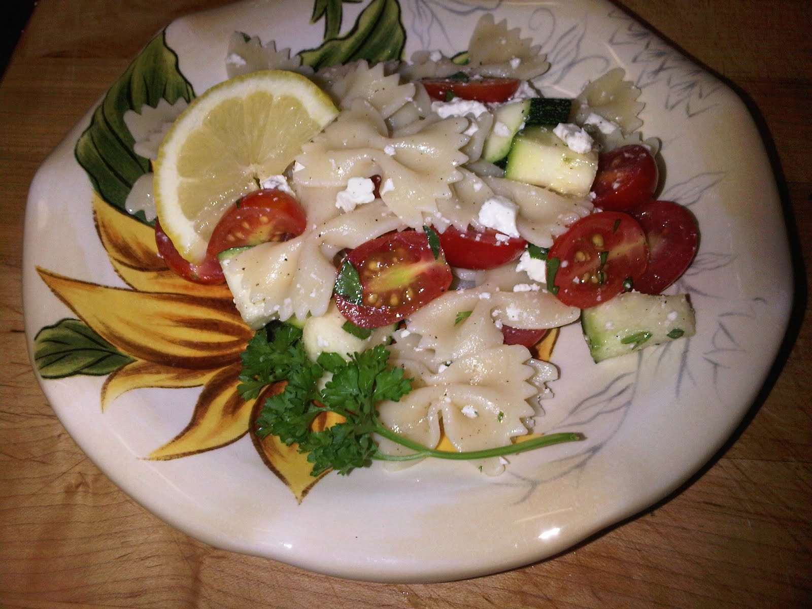 ... zucchini tomatoes pasta salad with tomatoes zucchini and feta the