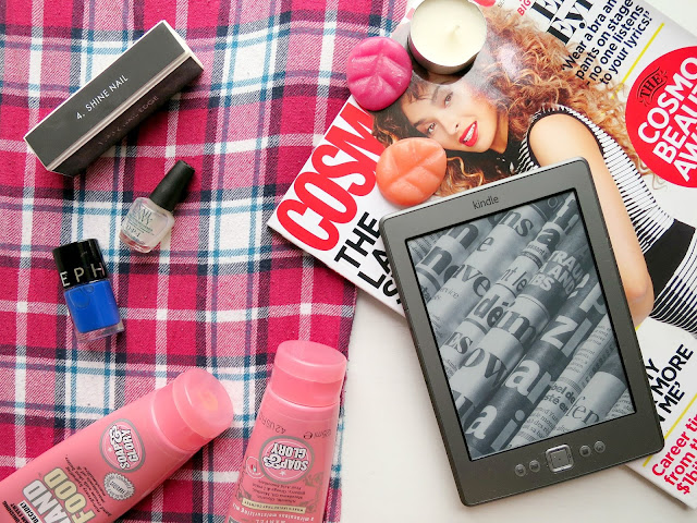 Perfect Night In Pamper PJs Comfortable Cosy Kindle Magazine Nail Polish Moisturiser