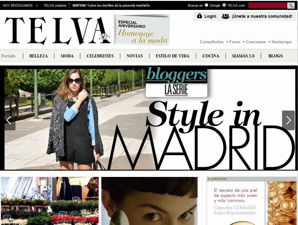 Entrevista en telva.com