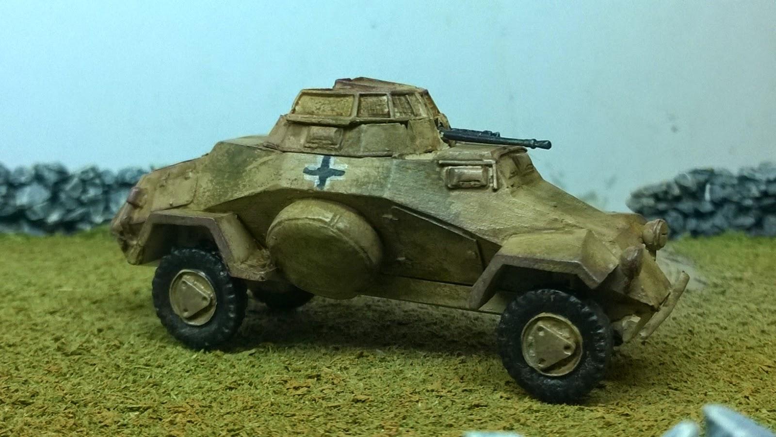 German armoured car sdnfz 222