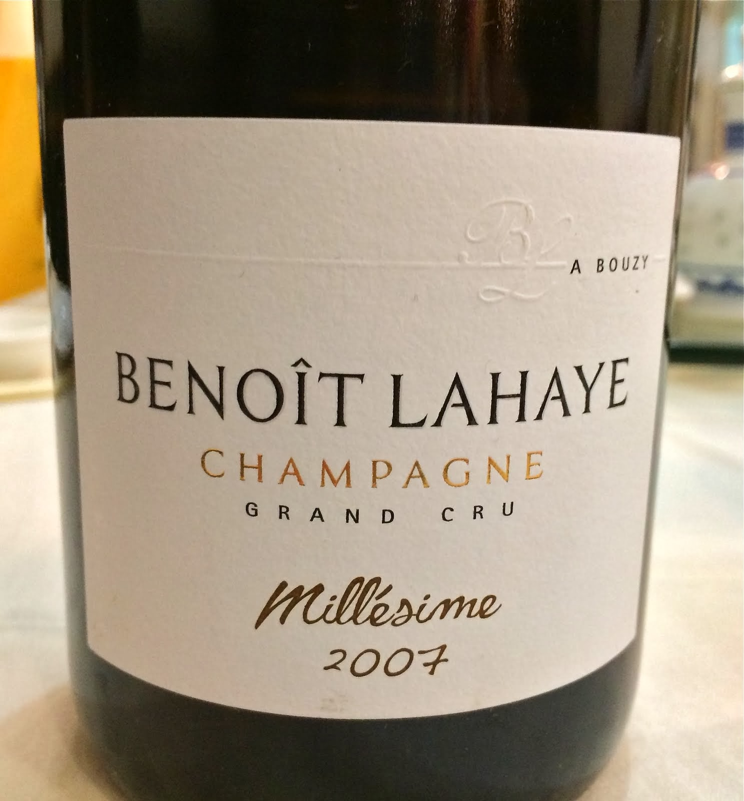 Benoît Lahaye Champagnes