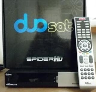 Nova Atualização Duosat Spider Hd 17-02-2013