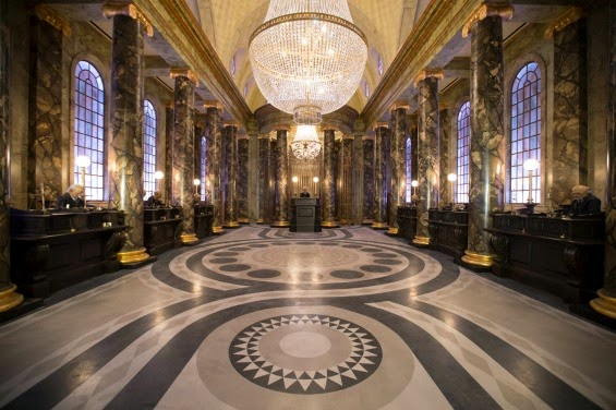 Gringotts Wizarding Bank Marble Hall