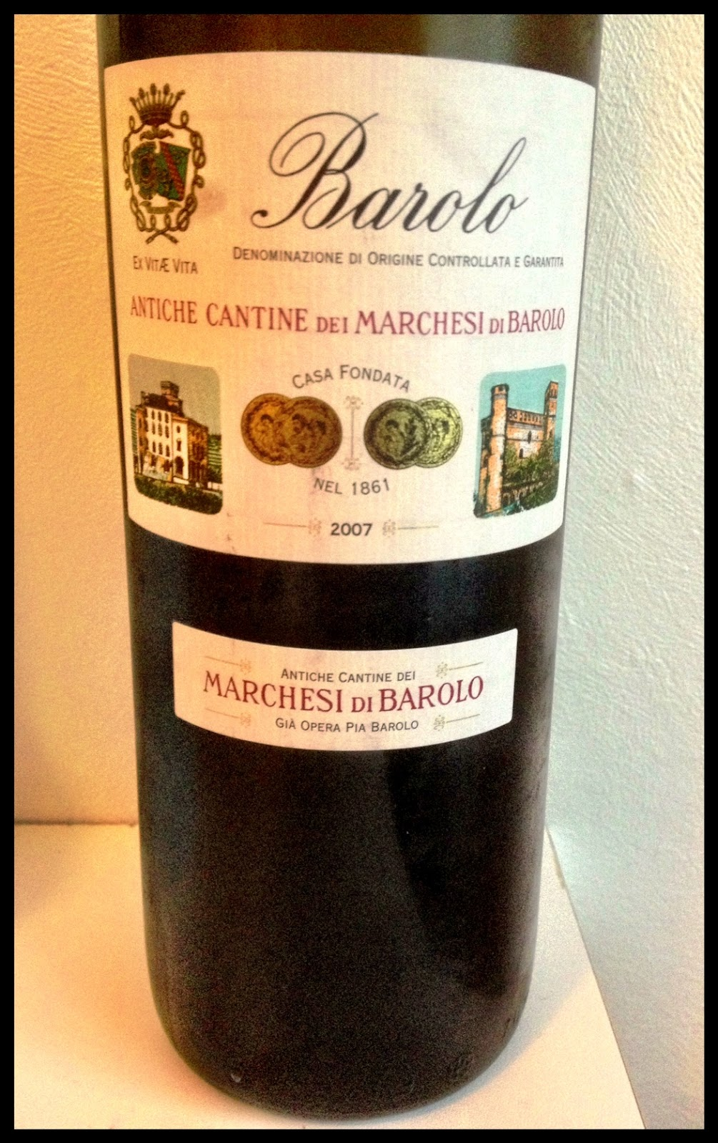 Tasting note on the 2007 Marchesi di Barolo Barolo