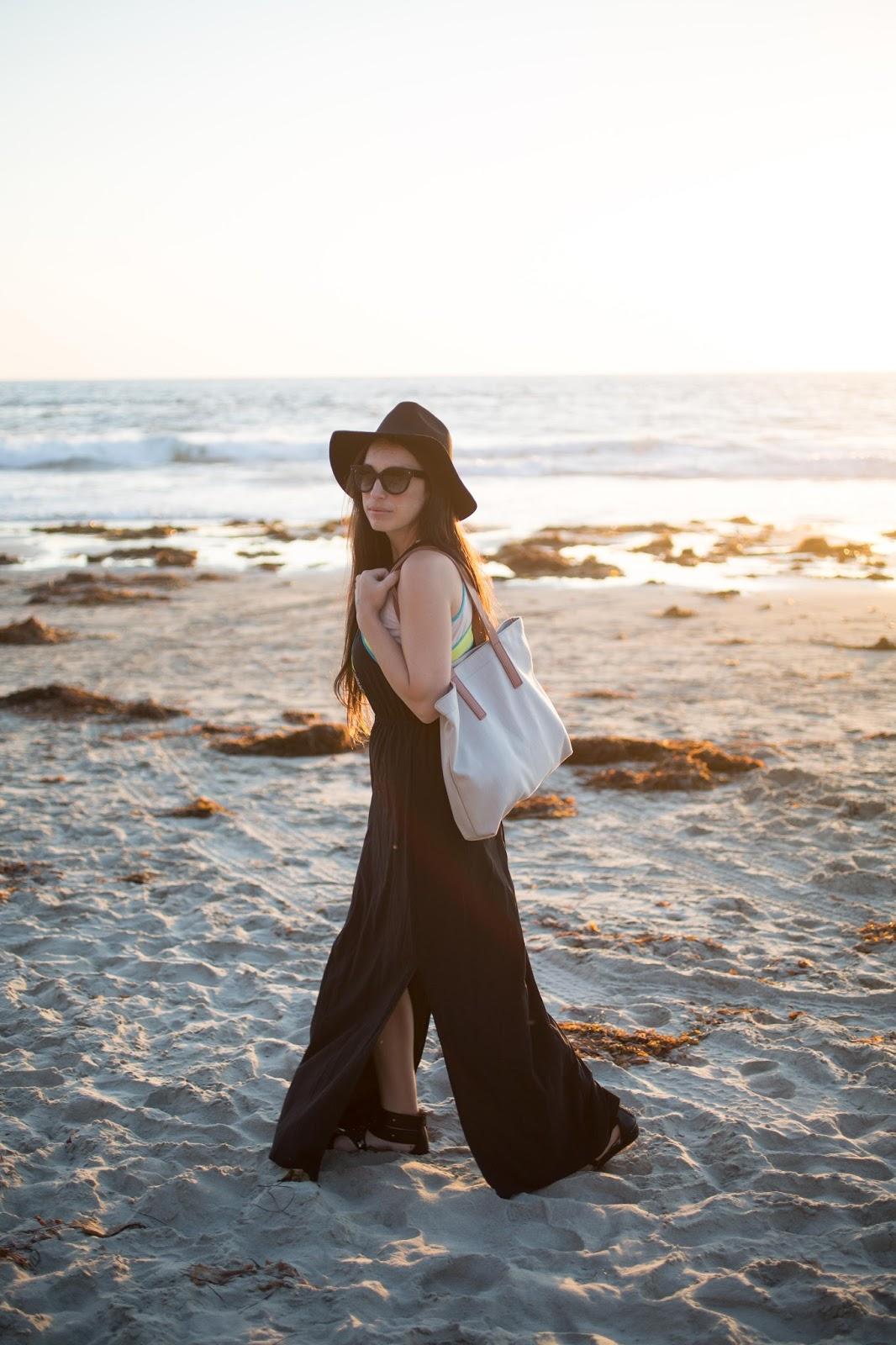 sundress at the beach