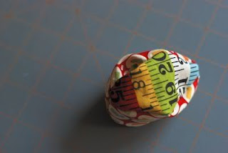 Ovos de tecido para páscoa