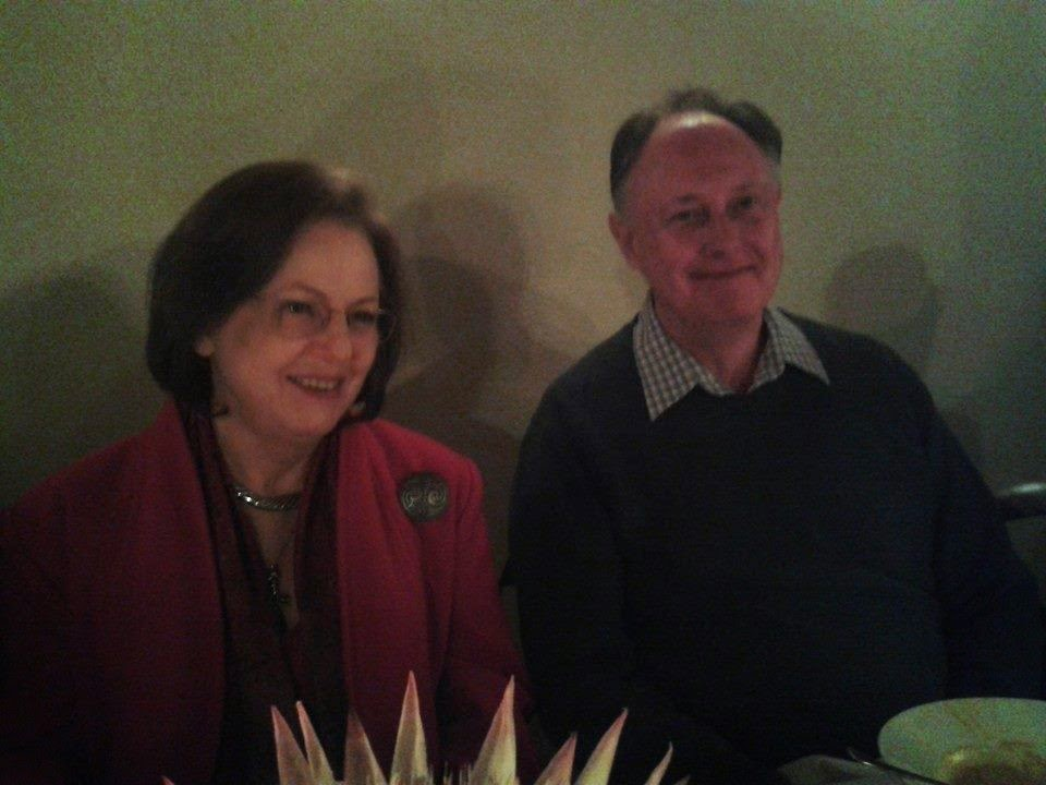 Leonie Viljoen and Ken Saycell