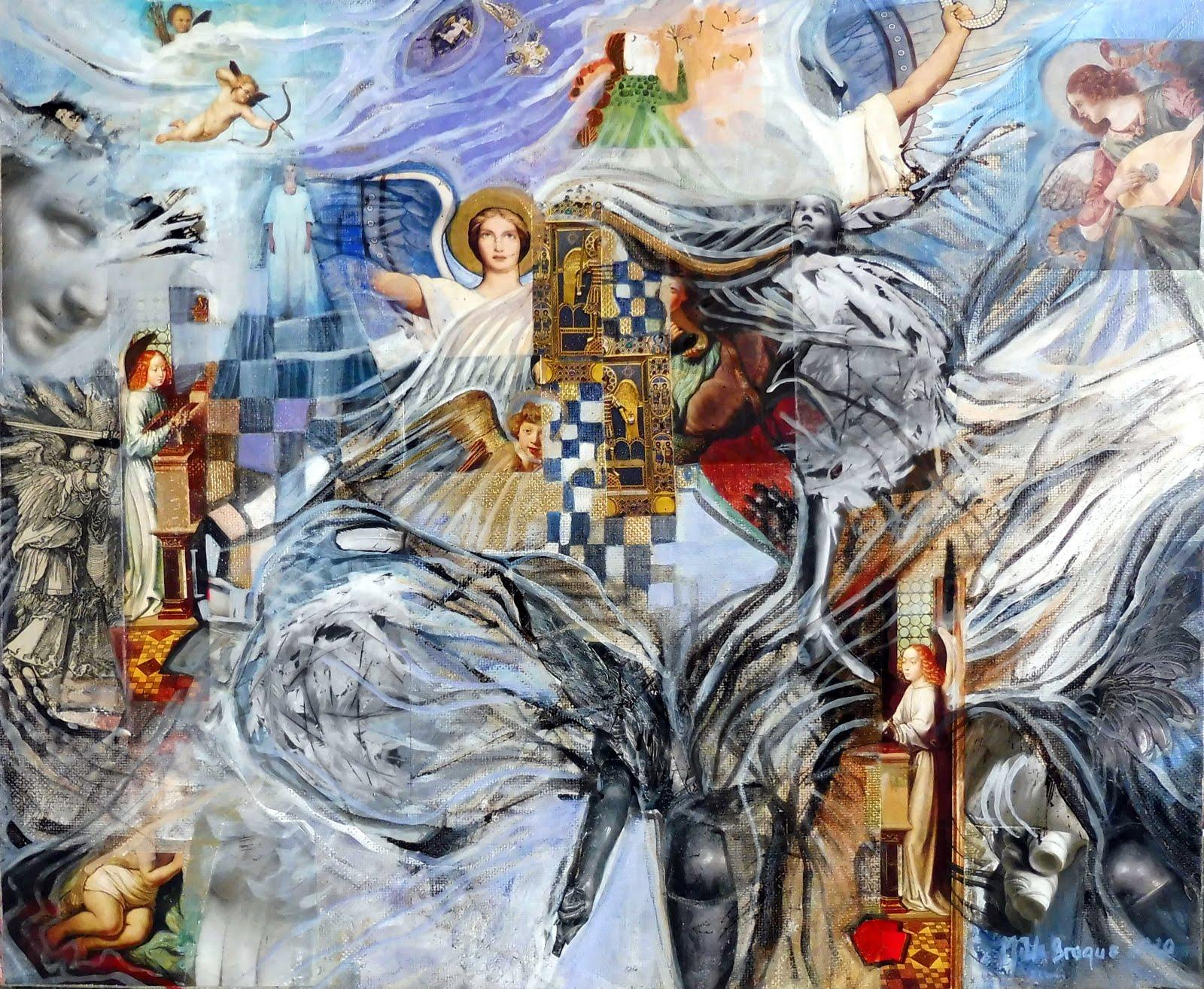 Sweet angels - 46 x 31 cm - 2020
