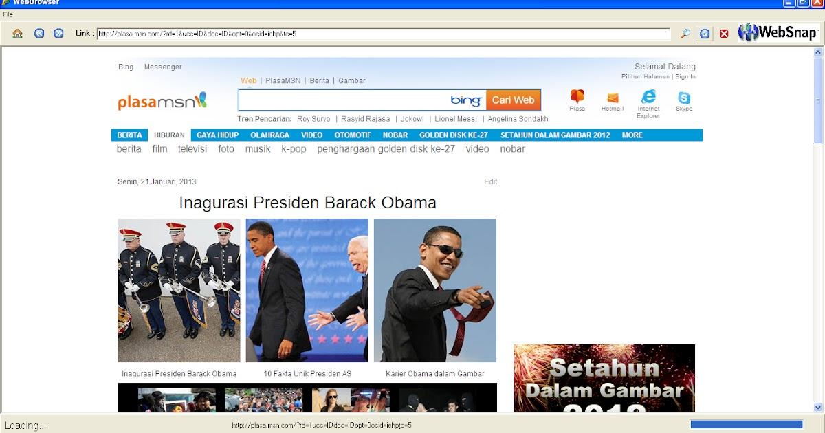 Membuat Web Browser dengan delphi