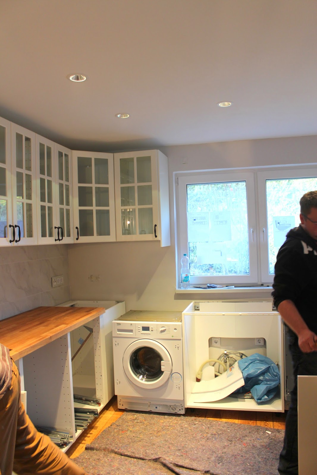 Frau Keks's Welt: Die Küche kommt! - Hausbau mit Hindernissen
