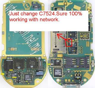 nokia 6630 no network