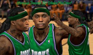 NBA 2K13 Cyber Face Marquis Daniels