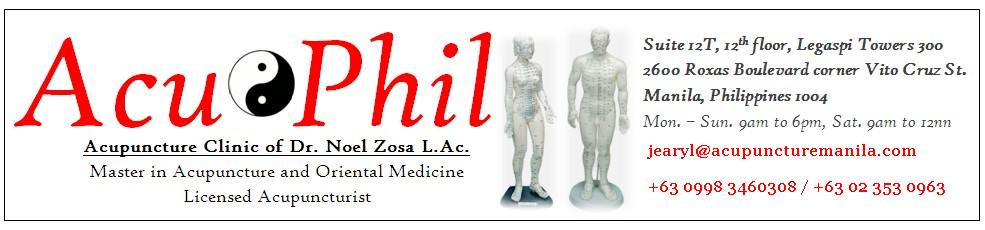 Welcome to AcuPhil Acupuncture Clinic - Acupuncture in Manila Philippines with Dr. Noel Zosa L.Ac.