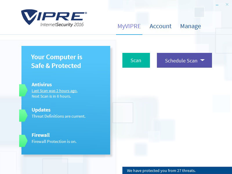 Vipre Internet Security With Firewall 2016 9.0.1.4