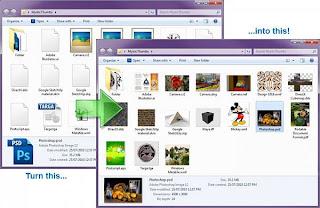 miniatures de fichiers.psd