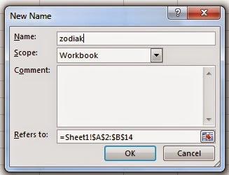 define name excel