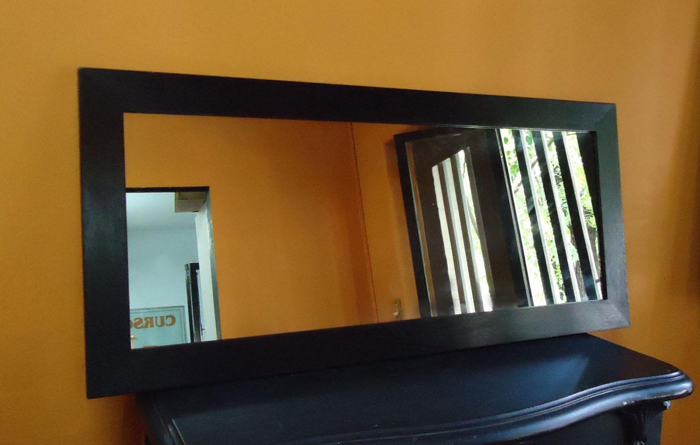 Espejos ecomarcos for Espejo marco wengue