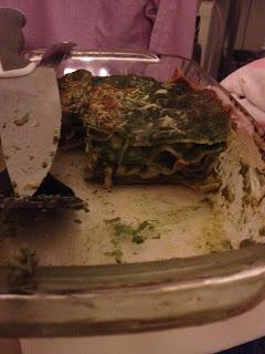 lasagne pesto e spinaci