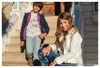 moda en ropa infantil otoño invierno 2014 mimo