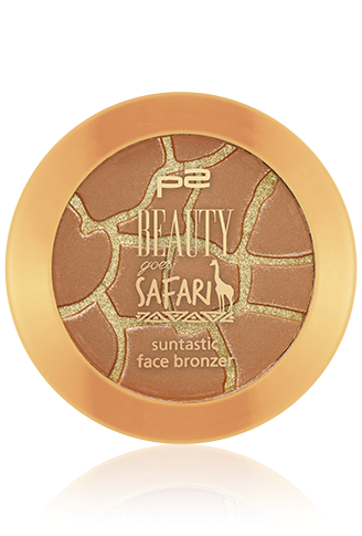 Preview: p2 Limited Edition: Beauty goes Safari - suntastic face bronzer - www.annitschkasblog.de