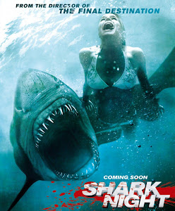 Poster Of Shark Night (2011) In Hindi English Dual Audio 300MB Compressed Small Size Pc Movie Free Download Only At worldfree4u.com