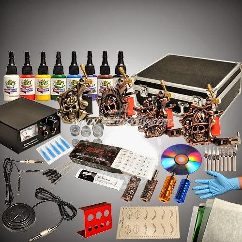 Tattoo supplies complete tattoo kit for Full tattoo kit