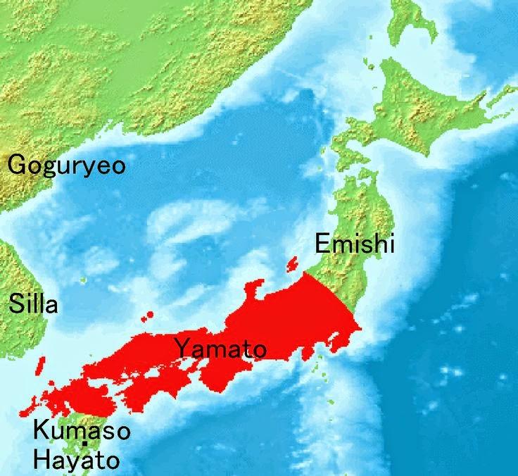 Map of Yamato state