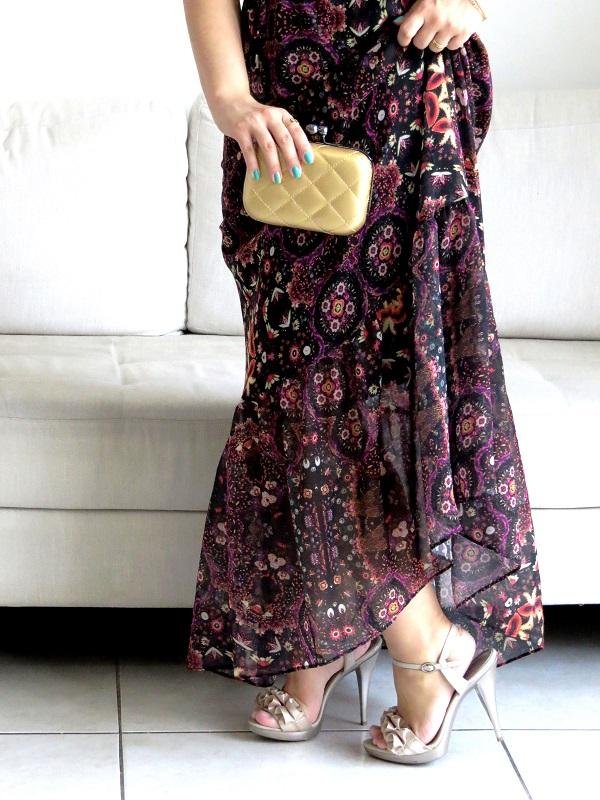 vestido floral bonito