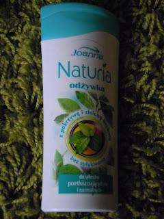 Joanna, Naturia, Odżywka z pokrzywą i zieloną herbatą do włosów przetłuszczających się i normalnych RECENZJA