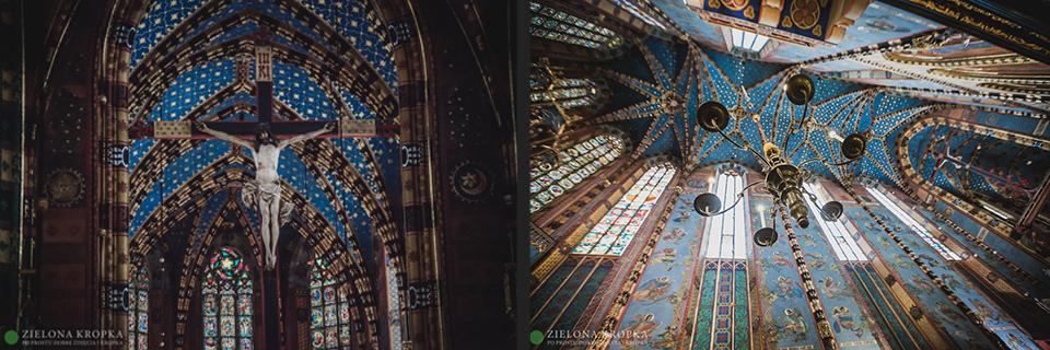 piękne-zdjęcia-ślubne-Andrychów-Kościół-Mariacki