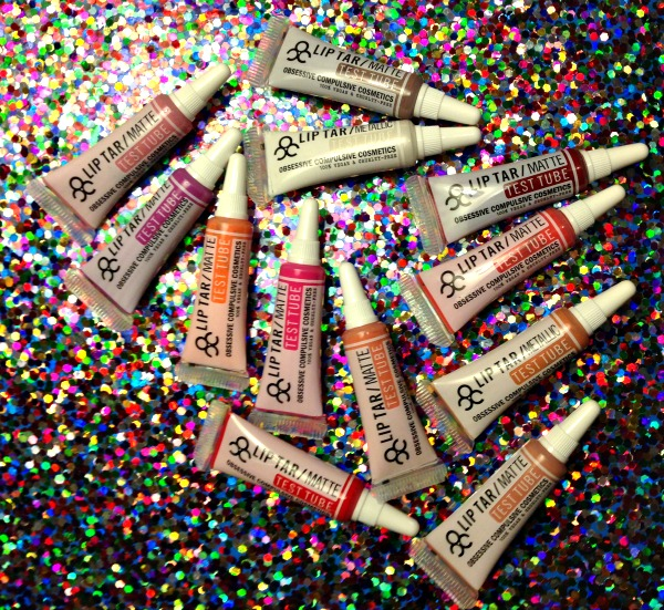 OCC lip tars for the holidays,must have Obsessive Compulsive Cosmetics