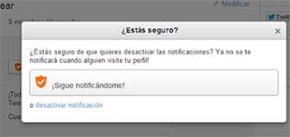 configurar notificaciones twoo