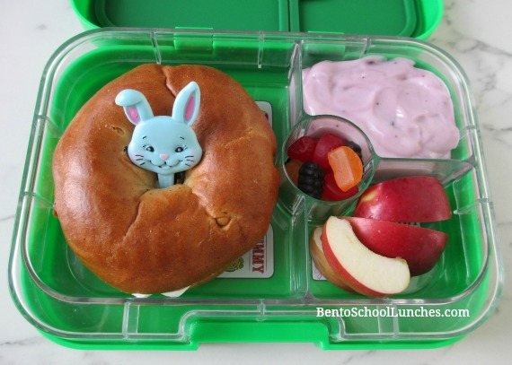 Bagel for school lunch