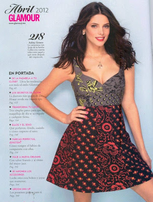 Ashley Greene April 2012 Mexico Glamour Magazine Pictures