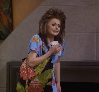 Daphne Moon in her punk phase.