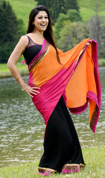 nayanatara saree pics in greekuveerudu movie9