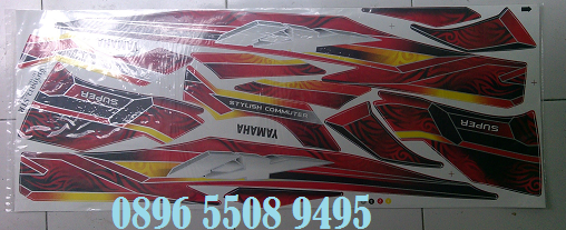 Variasi Stiker Motor Vega Zr top