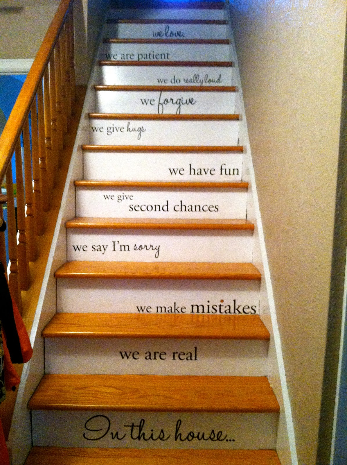 divine decor on a dime inspirations for my painted staircase