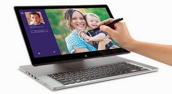 Kini Acer Aspire R7 Sudah Dilengkapi Prosesor Intel Haswell