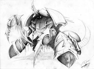 Nyx Assassin - Nerubian - Dota 2 BnW