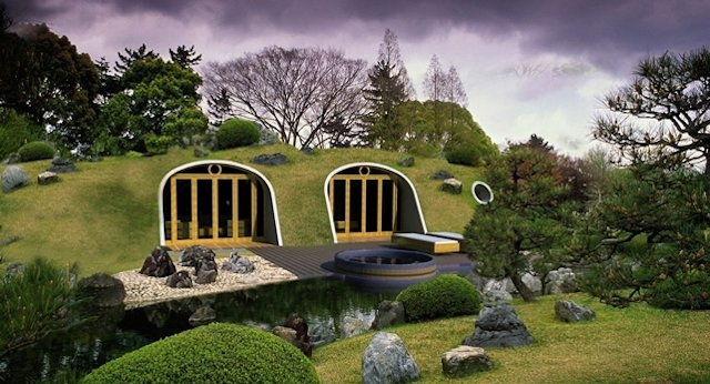 Imperar on geodesic domes colfibrex earth sheltered for Earthen home designs