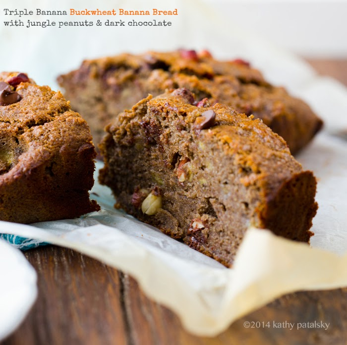 Nutty Banana Chocolate Chip Bread