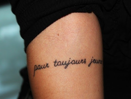 Revue parisienne inspiration tatouages 2 for Forever young in japanese tattoo