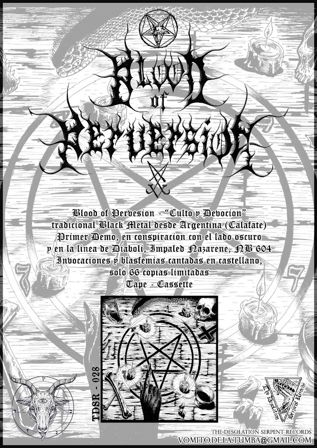 Blood of Perversion  Demo Tape