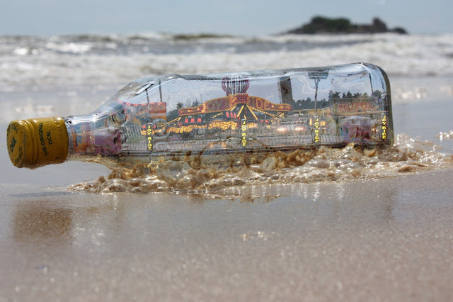 A fun fair in a bottle