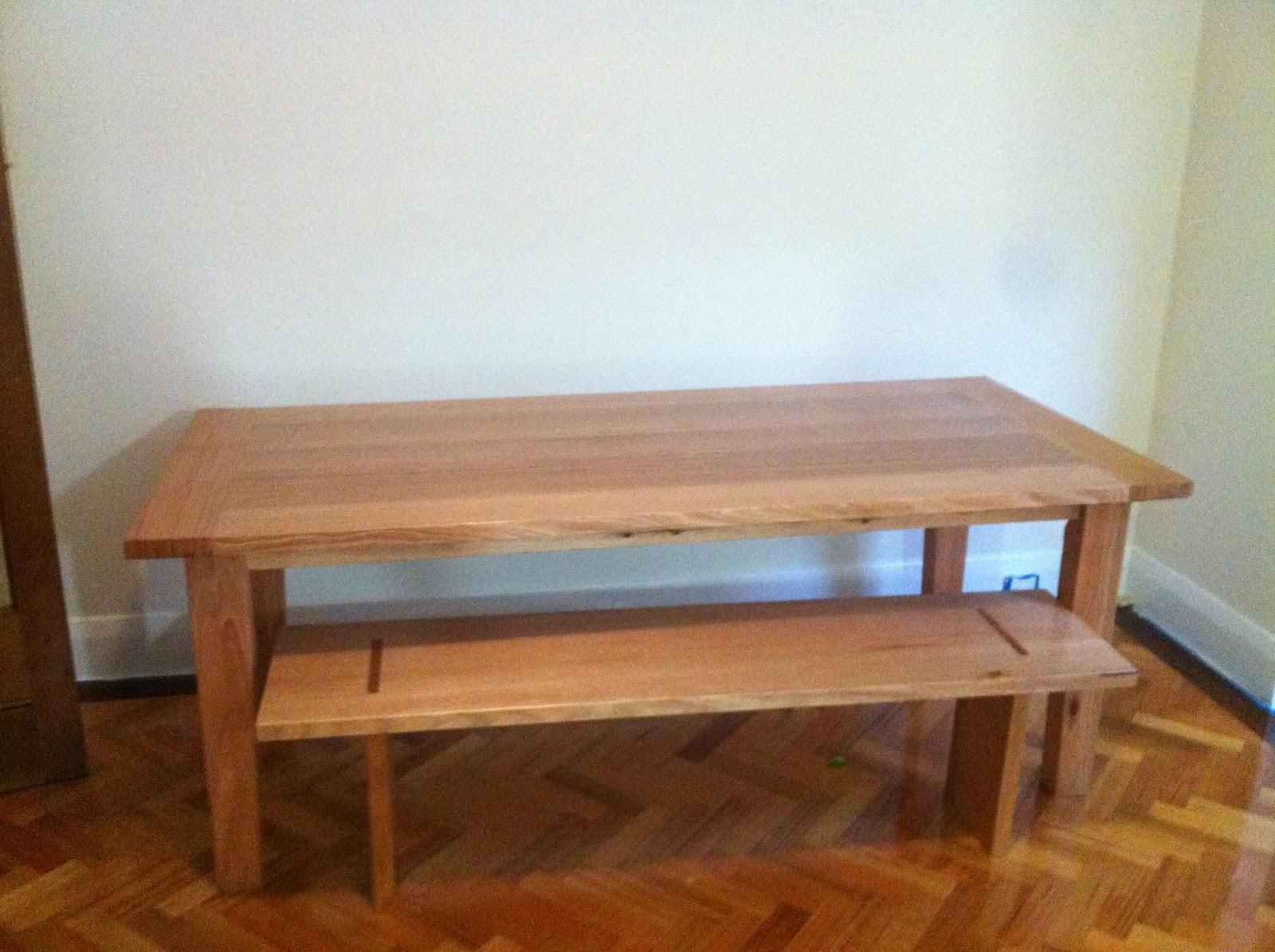 bombora custom designs farm house style dining table. Black Bedroom Furniture Sets. Home Design Ideas